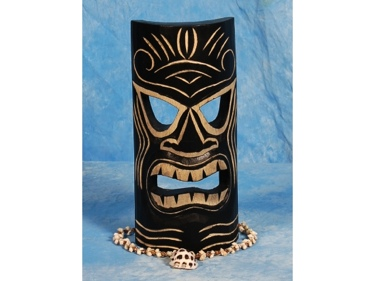 Carved Tiki Mask 12 Strength Tiki Hawaii Decor