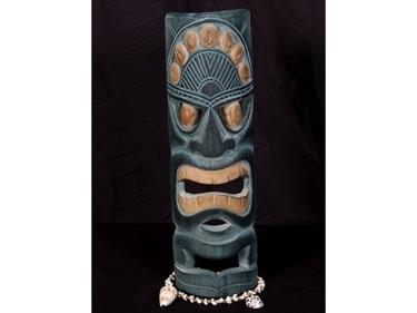 Polynesian Carved Tiki Mask 20 Hawaiian Decor