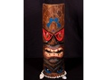 Polynesian Carved Tiki Mask 20 Beach Decor