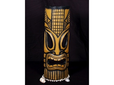 Polynesian Carved Tiki Mask 20 Tropical Decor