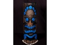 Polynesian Carved Tiki Mask 20 Coastal Decor