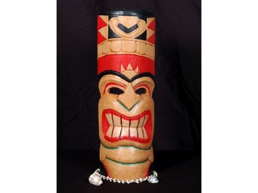 Polynesian Carved Tiki Mask 20 Pop Art Tiki Decor