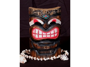Smiley Tiki Mask 8 Pop Art Tiki