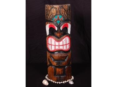 Smiley Tiki Mask 20 Pop Art Tiki Decor