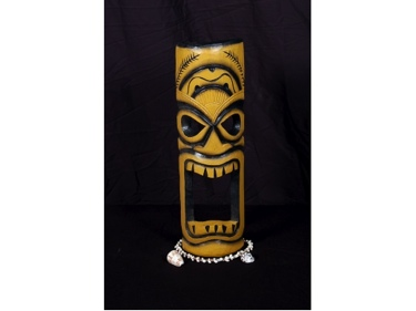 Smokin' Tiki Mask 20 Pop Art Tiki Decor