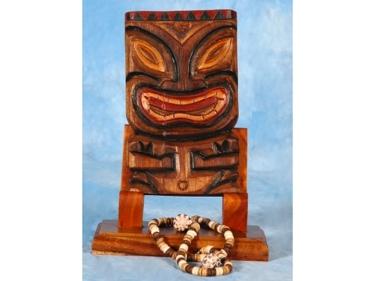 Tiki Mask 8 Wall Plaque Easter Island