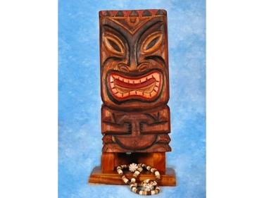 Tiki Mask 12 Wall Plaque Easter Island