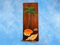 Palm Sea Shells Relief 20 Carved Painted Oceanic Art