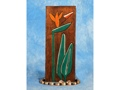 Bird Of Paradise Relief 20 Carved Painted Oceanic Art