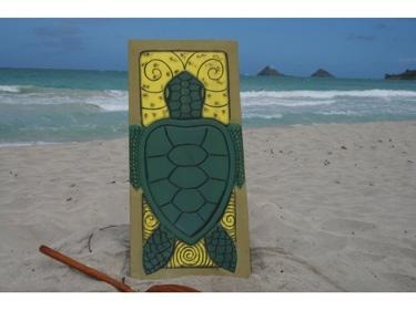 Turtle Honu 30 X 15 Endangered Species
