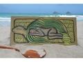Turtle Honu Sleeping Beauty 30 X 15 Endangered Species