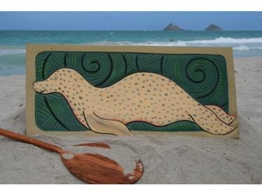 Hawaiian Seal 30 X 15 Endangered Species
