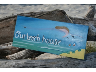 Our Beach House Nautical Sign 14 Beach Decor
