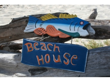 Beach House Beach Cottage Sign 15 Nautical Decor