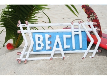 Beach Sign 22 Weathered Style Beach Cottage Decor