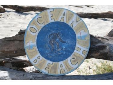 Ocean Beach Surf Nautical Sign 12 Nautical Surf Decor