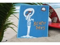 Beach Days Vintage Nautical Sign 14 Nautical Surf Decor