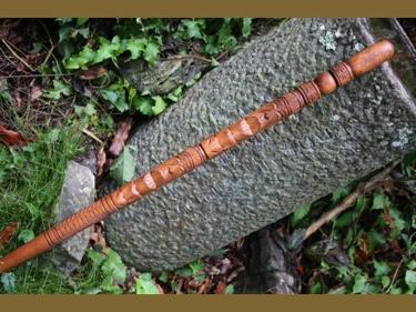 Tiki Stick Lucky 40 Tiki God Statue Cane