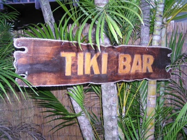Tiki Bar Sign Drift Wood 40 Tiki Bar Decor