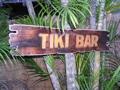 Tiki Bar Sign Drift Wood 40 Tiki Bar Decor