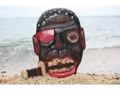 Pirate Head W Knife Wall Plaque 12 Pirate Decor