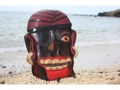 Pirate Head W Earrings Cigar Wall Plaque 12 Pirate Decor