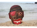 All Good Pirate Head W Cigar Wall Plaque 8 Pirate Decor