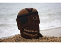 Friendly Pirate Head W Cigar Wall Plaque 8 Pirate Decor