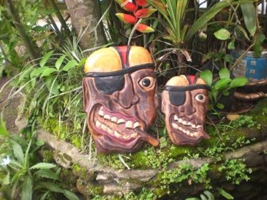 Friendly Pirate Head W Cigar Wall Plaque 12 Pirate Decor