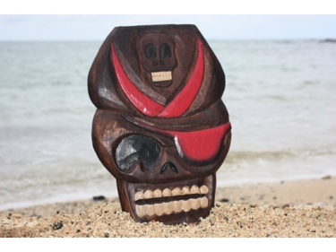 Captain Skully Pirate Head Wall Plaque 12 Pirate Decor