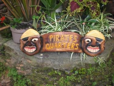 Pirate'S Quarters Pirate Sign 24 Pirate Decor