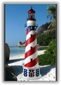 5 Foot American Deluxe Stucco Lighthouse