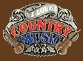 I love Country Music Belt Buckle Enamel 3-1/4 x 2-1/4