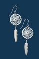 Small Dream Catcher Earrings