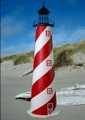 5 Foot American E-Line Stucco Lighthouse