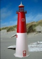 4 Foot Barnegat E-Line Stucco Lighthouse
