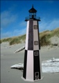 3 Foot Cape Henry E-Line Stucco Lighthouse