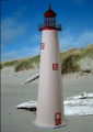 3 Foot Cape May E-Line Stucco Lighthouse
