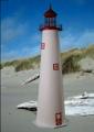 5 Foot Cape May E-Line Stucco Lighthouse