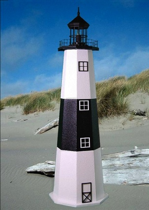 3 Foot Montauk E-Line Stucco Lighthouse