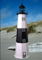 4 Foot Montauk E-Line Stucco Lighthouse