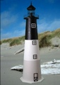 4 Foot Oak Island E-Line Stucco Lighthouse