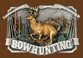 BOW HUNTING Belt Buckle 3-1/2 x 2-1/2