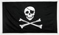 3 x 5 Skull & Cross Bones Flag