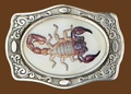 Scorpion Belt Buckle - 3-3/4 x 2-3/4
