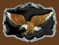 Eagle Belt Buckle 3-1/4 x 2-1/2