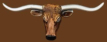 Longhorn Steerhead Belt Buckle 5-1/2 x 2