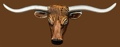 Longhorn Steerhead Belt Buckle 5-1/2 x 2