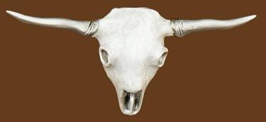Longhorn Steerhead Skull Belt Buckle 5-3/4 x 2-1/2