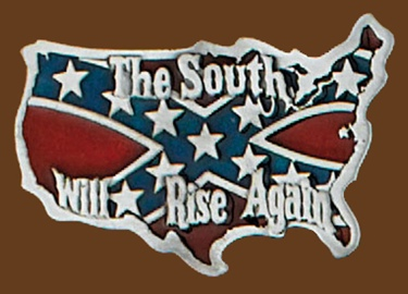 South Will Rise Again Belt Buckle 3x 2